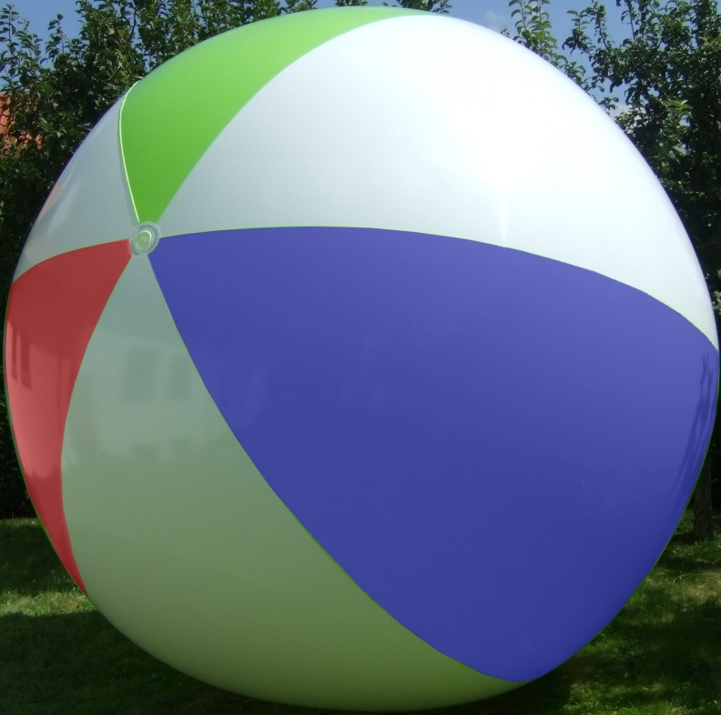 Giant Beach Ball 168wr Inflatable World