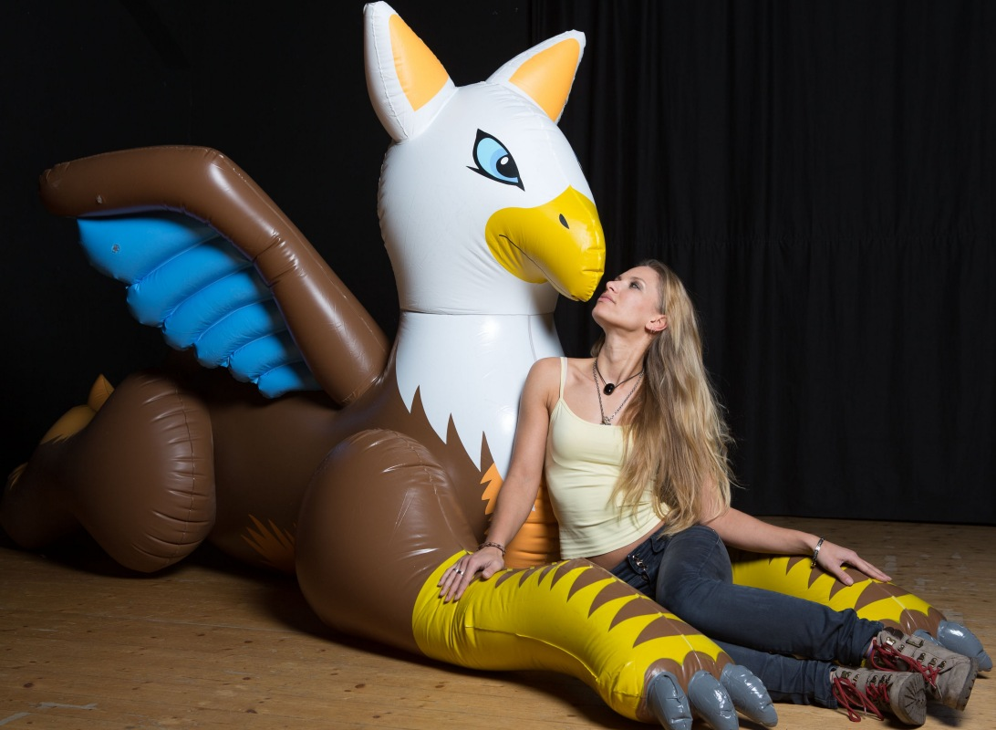 Gryphon, Inflatable World Zebra Weight